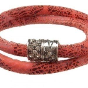 VÅGA Armband Kaulakoru Tyg Bling Rosa