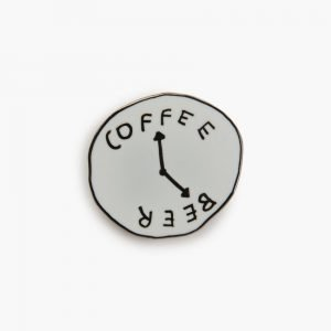 Valley Cruise Coffee/Beer Pin by Katy Kosman