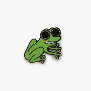 Valley Cruise Frog Lapel Pin