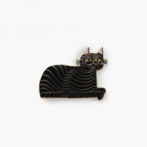 Valley Cruise Jungle Cat Pin by Llew Mejia