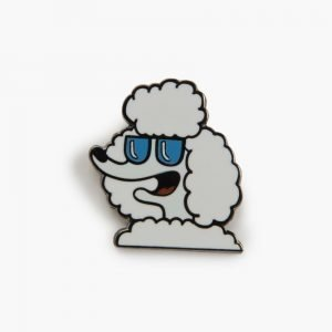 Valley Cruise Poodle Pin by Tiffany Cooper