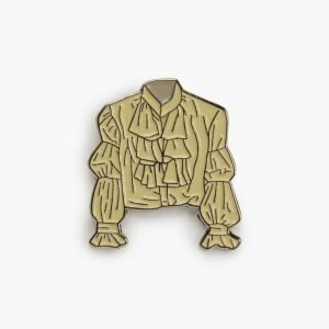 Valley Cruise Puffy Shirt Lapel Pin