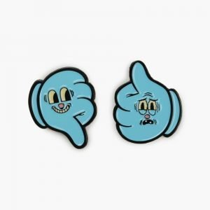 Valley Cruise Thumbs Up / Thumbs Down Pin Pack
