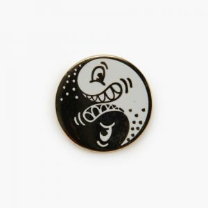 Valley Cruise Ying Yang Pin by Steven Harrington