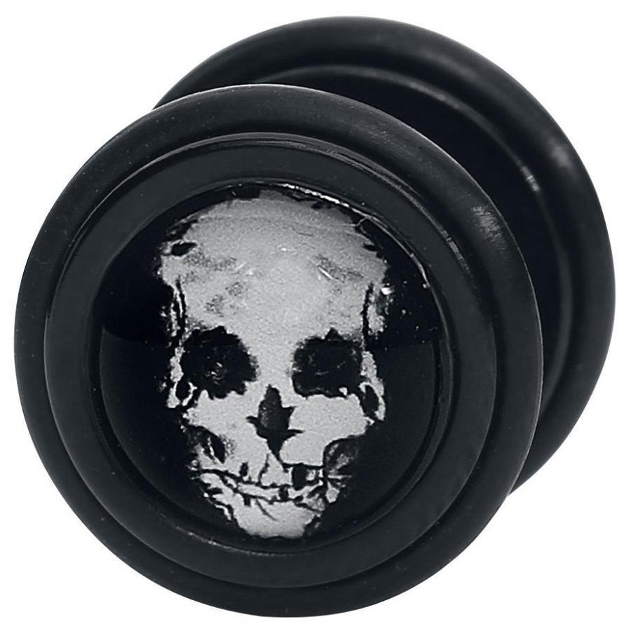 Wildcat Black Roses Skull Feikkinapit