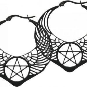 Wildcat Winged Pentagram Korvakorusetti