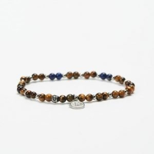 by Billgren Bead Bracelet 8946 Brown/Blue