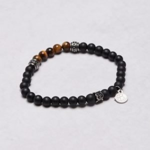 by Billgren Bead Bracelet 8954 Black/Brown