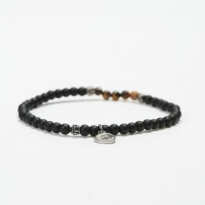 by Billgren Bead Bracelet 8955 Black/Brown
