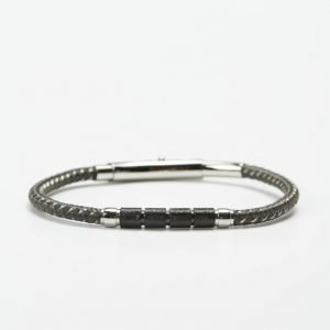 by Billgren Bead Bracelet 8982 Grey