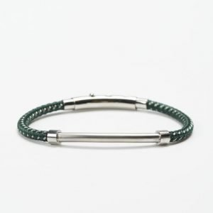 by Billgren Bead Bracelet 8985 Green