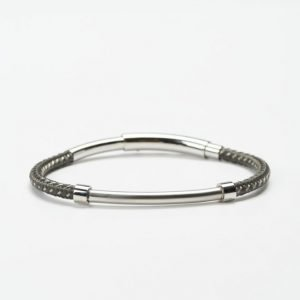 by Billgren Bead Bracelet 8986 Grey