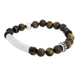 by Billgren Bead Bracelet Brown