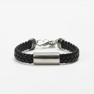 by Billgren Leather Bracelet 8903 Black
