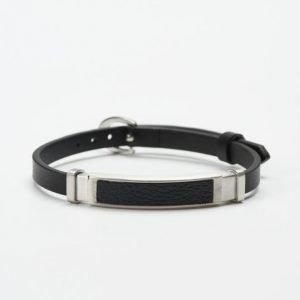 by Billgren Leather Bracelet 8961 Black