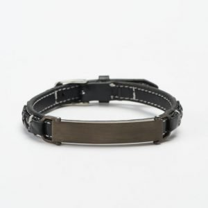 by Billgren Leather Bracelet 8975 Black