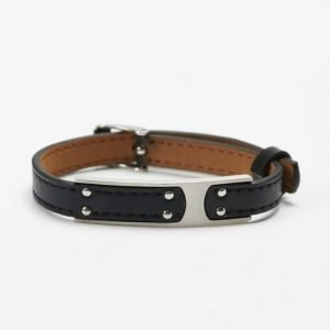 by Billgren Leather Bracelet 8976 Black