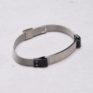 by Billgren Leather Bracelet 8977 Steel