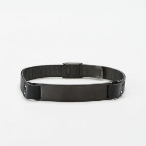 by Billgren Leather Bracelet 8978 Black