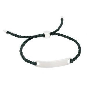 by Billgren Nylon Rope Bracelet Green