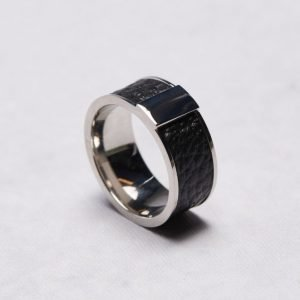 by Billgren Ring 5603 Steel/Leather
