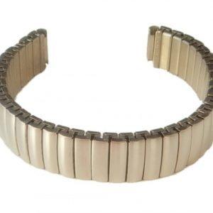 klockarmband expander borstat stål 18mm