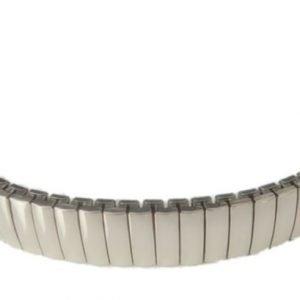 klockarmband expander polerad stål 12mm
